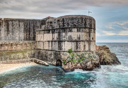 Dubrovnik Walls - outside