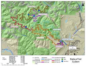 Baileys Trails Phase 1 Map