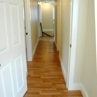 Hallway from other end - bath and laundry off hall