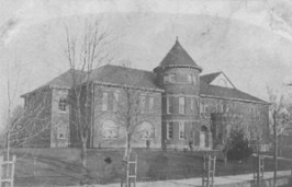 1907 postcard of Concord State Normal School