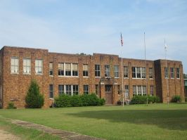 Mt. Olive Christian School occupies the former public Athens High School building.
