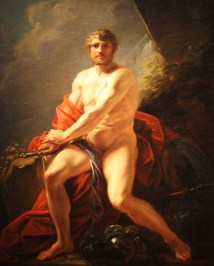 Alexader with-the-arm-of-Achilles- Heinrich-Friedrich-Fuger