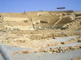 Hephaistia_Ancient_Theatre