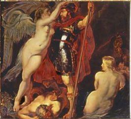 Le Triomphe de la vertu Rubens