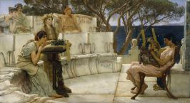 Sir_Lawrence_Alma-Tadema,_RA,_OM_-_Sappho_and_Alcaeus_-_Walters