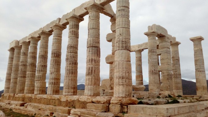 Temple of Poseidon Photo by Th. Bounas