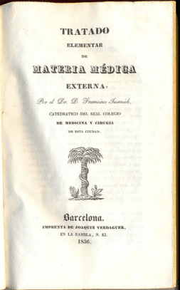 De Materia Medica in Spanish; Pedanius Dioscorides' book endured in different versions and languages