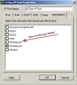 Added VM Network