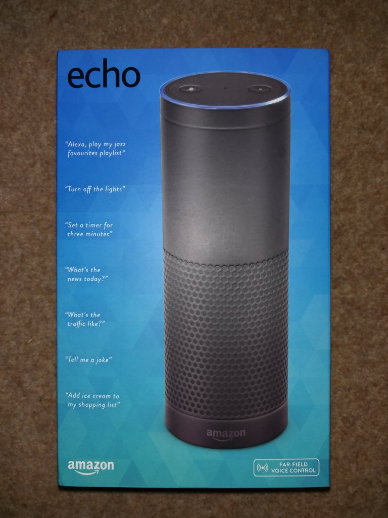 Amazon Echo Box