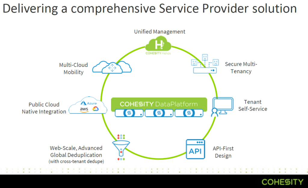 Cohesity - Service Provider Solution