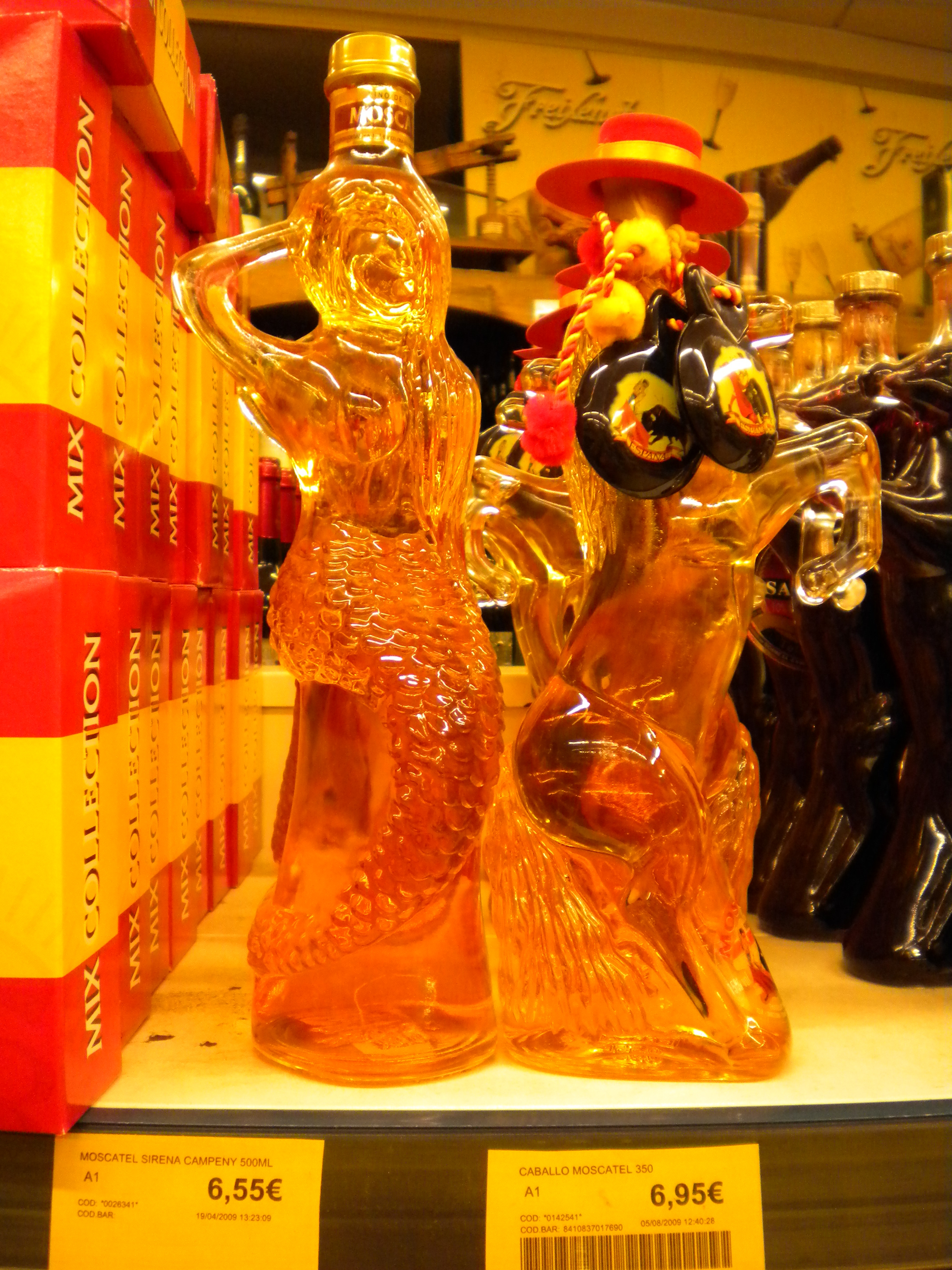 Moscatel mermaid and horse