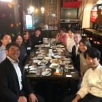 Find-FCのアスリートと支援企業様で第一回目懇親会を行いました。