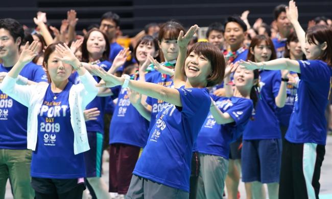 東京2020スポンサー企業17社が参加した合同運動会 「PARTNER SPORT DAY 2019」を開催