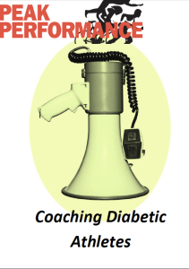 A concise introduction to the issue of diabetes for athletes and their coaches. From: