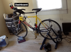 Maintaining high pedal cadence is tough with PowerCranks.