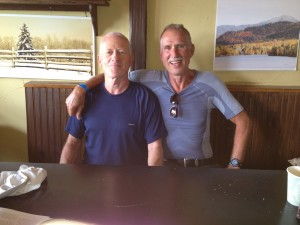 healthy grief for healthy aging: triathlon training: Frits Massee at Lake Placid Ironman 2012, FitOldDog,