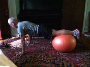 core training, balance ball, continuum,