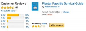 Reviews of the Plantar Fasciitis Survival Guide