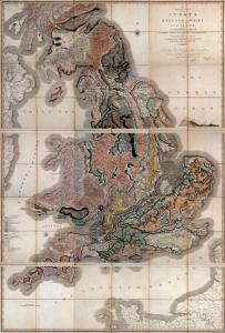 body geology; map by William Smith