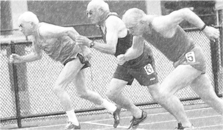 Older athletes; Old guys running