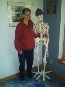 Karen and Mr. Bones