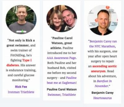 heart stent: three people who inspire FitOldDog