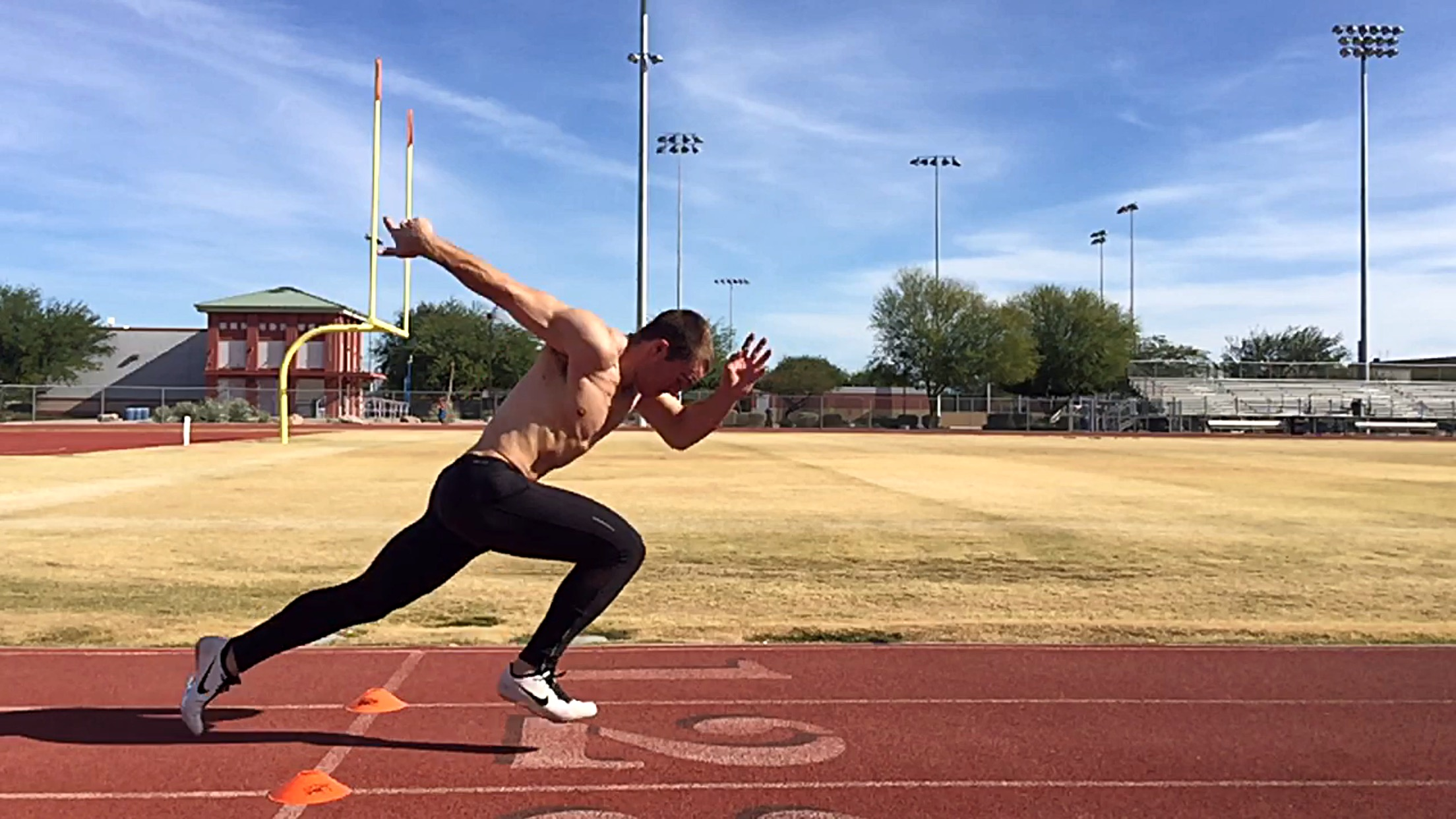 image for acceleration training sprint training