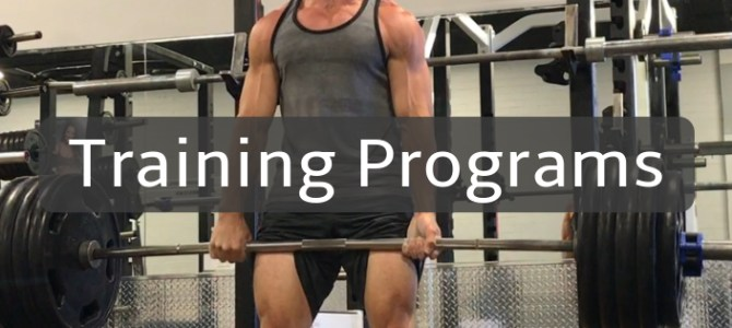 3 week strength training program