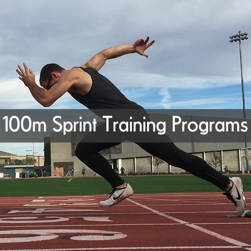 100m dash sprint training program