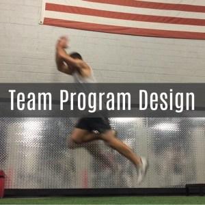 Image for team program design