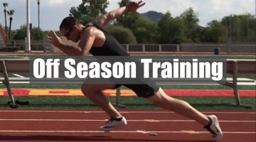 Off Season Training For Sprinters
