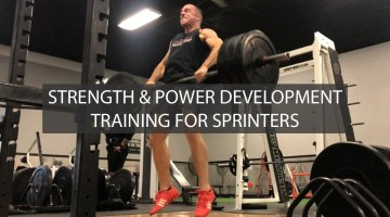 Strength & Power Training For Sprinters | ATHLETE.X