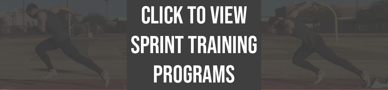 athlete.x sprint training programs