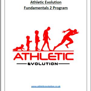 Athletic Evolution Fundamentals 2 Program