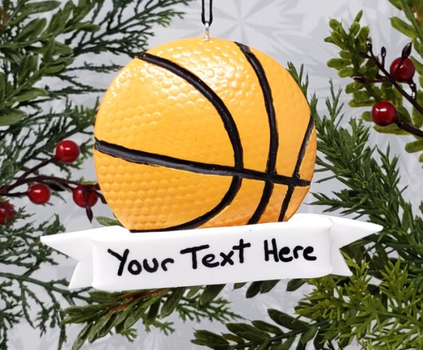 Basketball Christmas Ornament High School Sports Decoration NBA