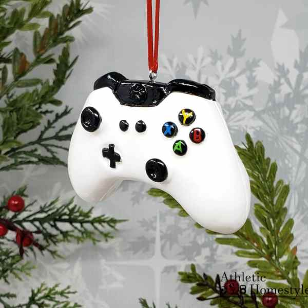 xbox video game controller christmas ornament electronic entertainment x box game console