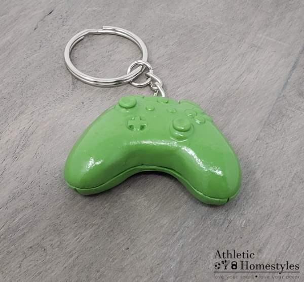 Xbox video game controller keychain backpack charm accessory electronic entertainment gift nerd geek