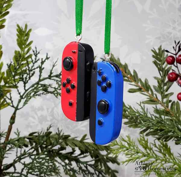 nintendo switch controller christmas ornament gaming