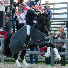 Clare Hole, GB Pony Dressage Team