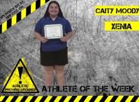 Caity Moody, Xenia