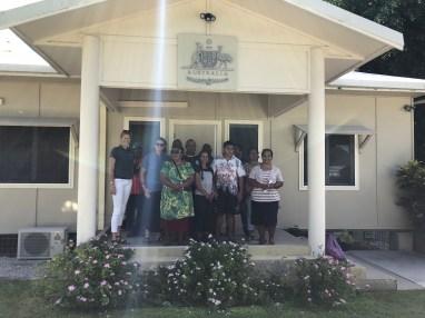 OAA, NAA and Nauru Community Leaders at the Australian High Commission Nauru Headquarters