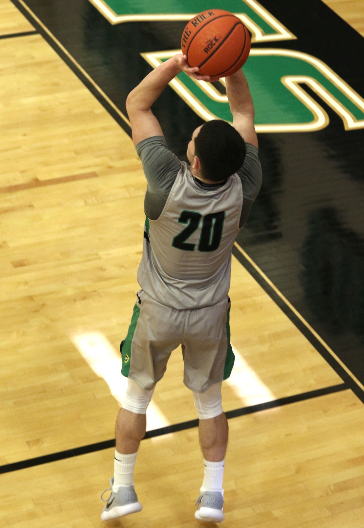 Copyright 2017; Wilmington University. All rights reserved. Photo of Danny Walsh knocking down the game-winner against No. 19 Shippensburg, taken by Frank Stallworth. November 22, 2017.