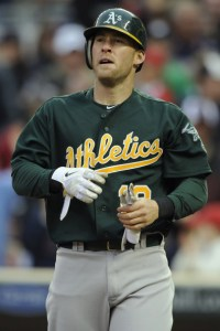 Daric Barton: Don't worry, A's fans - only in case of emergency!