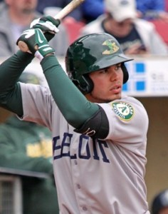 Beloit Snappers Designated Hitter Renato Nunez (Grand Slam / Game-Winning RBI)