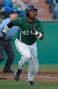 Vermont Lake Monsters Outfielder B.J. Boyd (3 for 4 / Home Run / Game-Winning RBI)