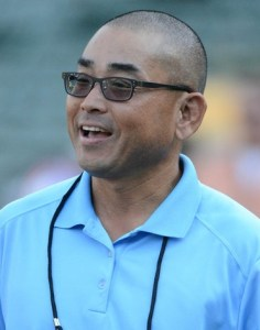 A's scouting director Eric Kubota