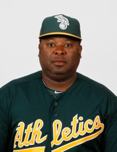 Arizona League A's manager Webster Garrison