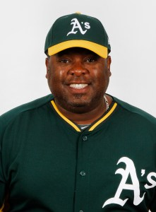 Beloit Snappers manager Webster Garrison