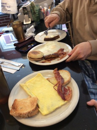 Breakfast at Tony's in North End