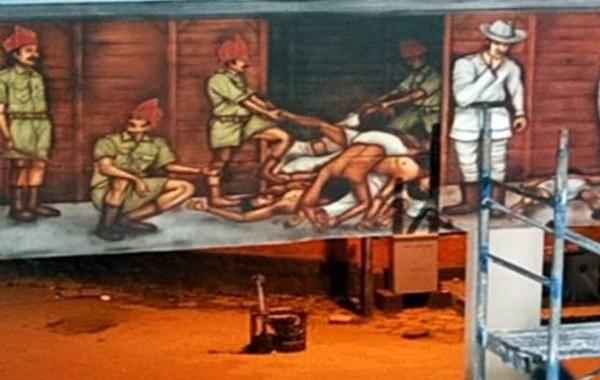 'വാഗണ് ട്രാജഡി' ചുമര്ചിത്രം നീക്കിയത് ചരിത്രത്തോടുള്ള അവഹേളനം: മുഖ്യമന്ത്രി